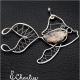 Přívěsek Ryba - Jaspis kámen štěstí - chirurgická ocel
