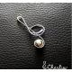 Přívěsek Houslový klíč (delší)