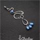 Přívěsek Modré perly