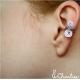 Záušnice - spirálková ozdoba na ucho