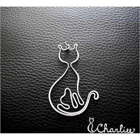 Tepaná kočka Mňaudáma (delší)