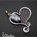 Přívěsek Obsidiánové srdce
