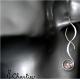 Provlékací spirály (kratší) - Aqua Aura (duhová)