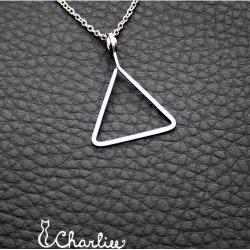 Přívěsek Minimalismus -  Trojúhelník