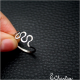 Tepaný prsten Vlnka