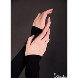 Tepaný prsten Minimalismus - Čtverec