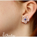 Pecičky Květy - modré