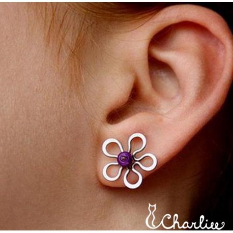 Pecičky Květy - fialové